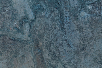 Dark blue scratched texture or wall for your background. Concrete texture background. Cement colourful wall for your design or promotion