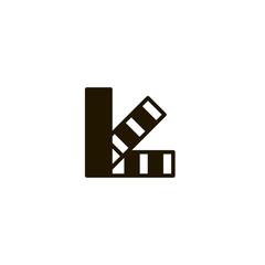 pantone icon. sign design
