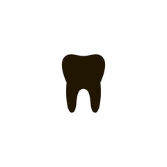 teeth icon. sign design