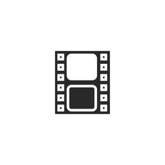 camera roll icon. sign design