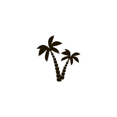 palm icon. sign design