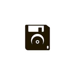 floppy disc icon. sign design