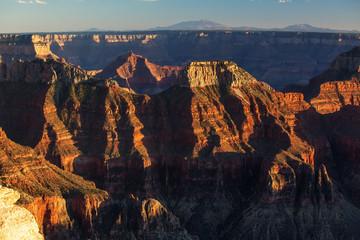 A view to Grand Canyon National Park, North Rim, Arizona, USA