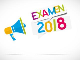 mégaphone : examen 2018