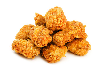 Chicken wings in breading
