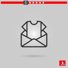 newsletter vector icon