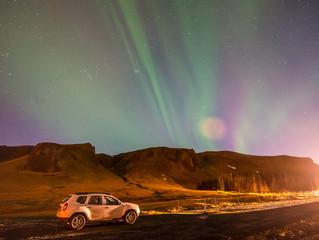 Aurora Borealis, Northern lights in Iceland