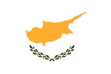 Cyprus flag, National flag of Cyprus