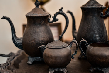 Antique Tea Serving Set