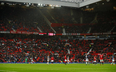 Premier League - Manchester United vs West Bromwich Albion