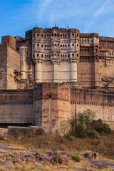 Fotomurales - Mehrangarh fort in Jodhpur, Rajasthan, India.