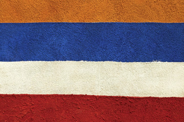 texture of multicolored suede in the form of stripes patches