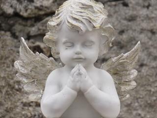 angel esculpido