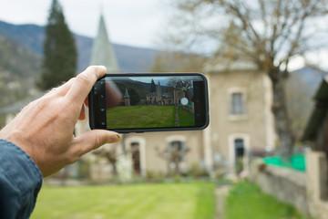 Selfie et appareil photo