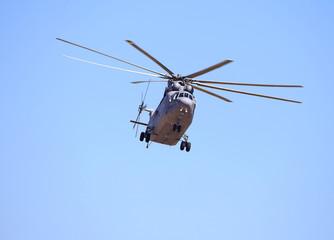 Large transport helicopter.