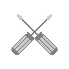 Screwdriver icon. Vector Illustration