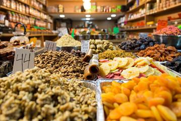 At Machane Yehudah Market in Jerusalem