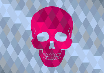 skull triangle pattern