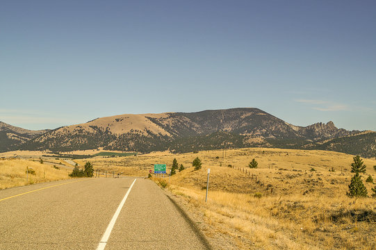 Sleeping Giant Near Helena Montana