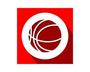 basketball red sports equipment tool utensil image vector