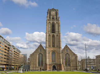 Laurenskirche in Rotterdamm