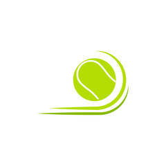 Tennis Ball Vector Template Design Illustration