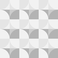 Abstract background of circles and triangles of gray color. Abstract circles in gray.
