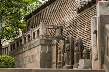 江戸時代の築地塀