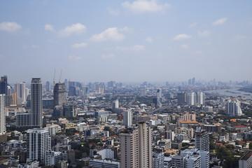 Bangkok Cityscape big city