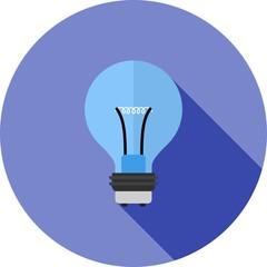 Lightning Bulb Icon