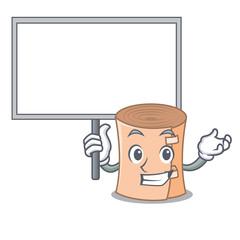 Bring board medical gauze character cartoon