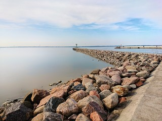 Zalew Wiślany - Tolkmico Port