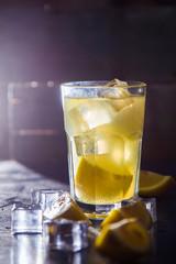 cold lemon drink