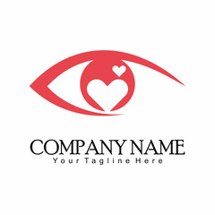 Eye Heath Logo Vector Template