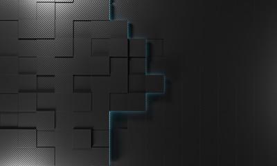 square carbon fiber background