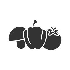 Vegetables glyph icon