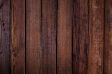 Wooden dark background design. Vintage graphic background texture.