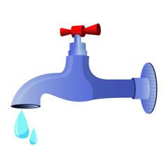 water tap vector design