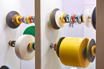 Adhesive insulating tape PVC