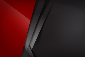 Abstract background red dark and black overlap 008