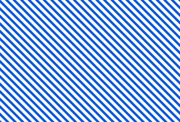 Diagonales Streifenmuster blau weiß Wall mural