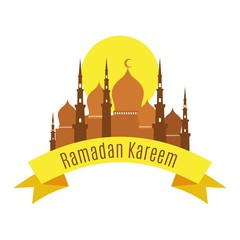 labels for islamic holy holiday ramadan