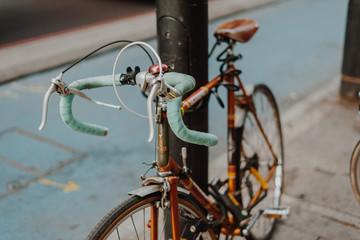 Fahrrad Rennrad Mint Retro