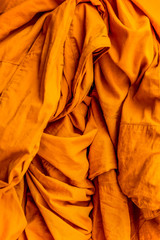 Monk robe fabric texture background
