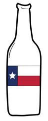 Texas Flag Beer