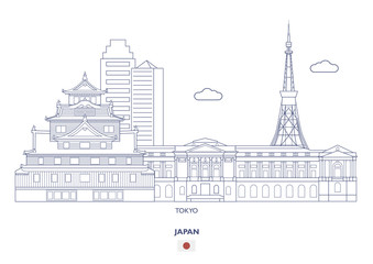 Tokyo Linear City Skyline, Japan