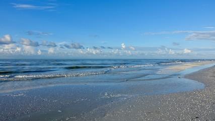 Strand, Landschaft auf Sanibel Island in Florida, USA