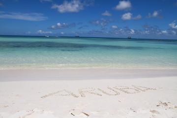 Plage Aruba