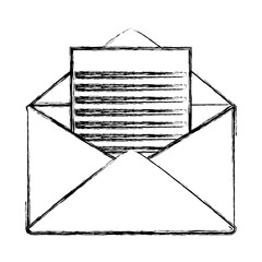 grunge letter with document text message information