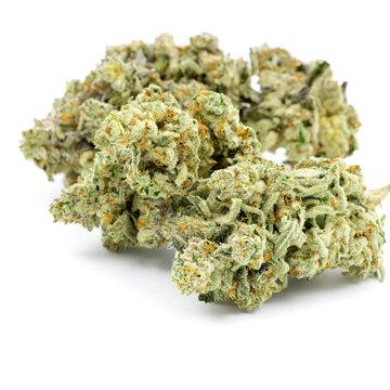 Marijuana Isolated White Background